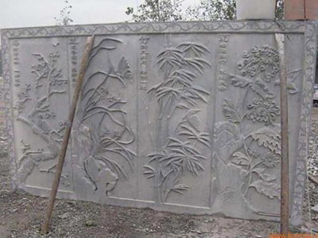 石雕壁画图片